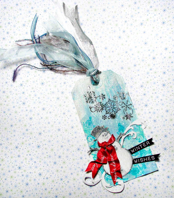 Winter Wishes Tag