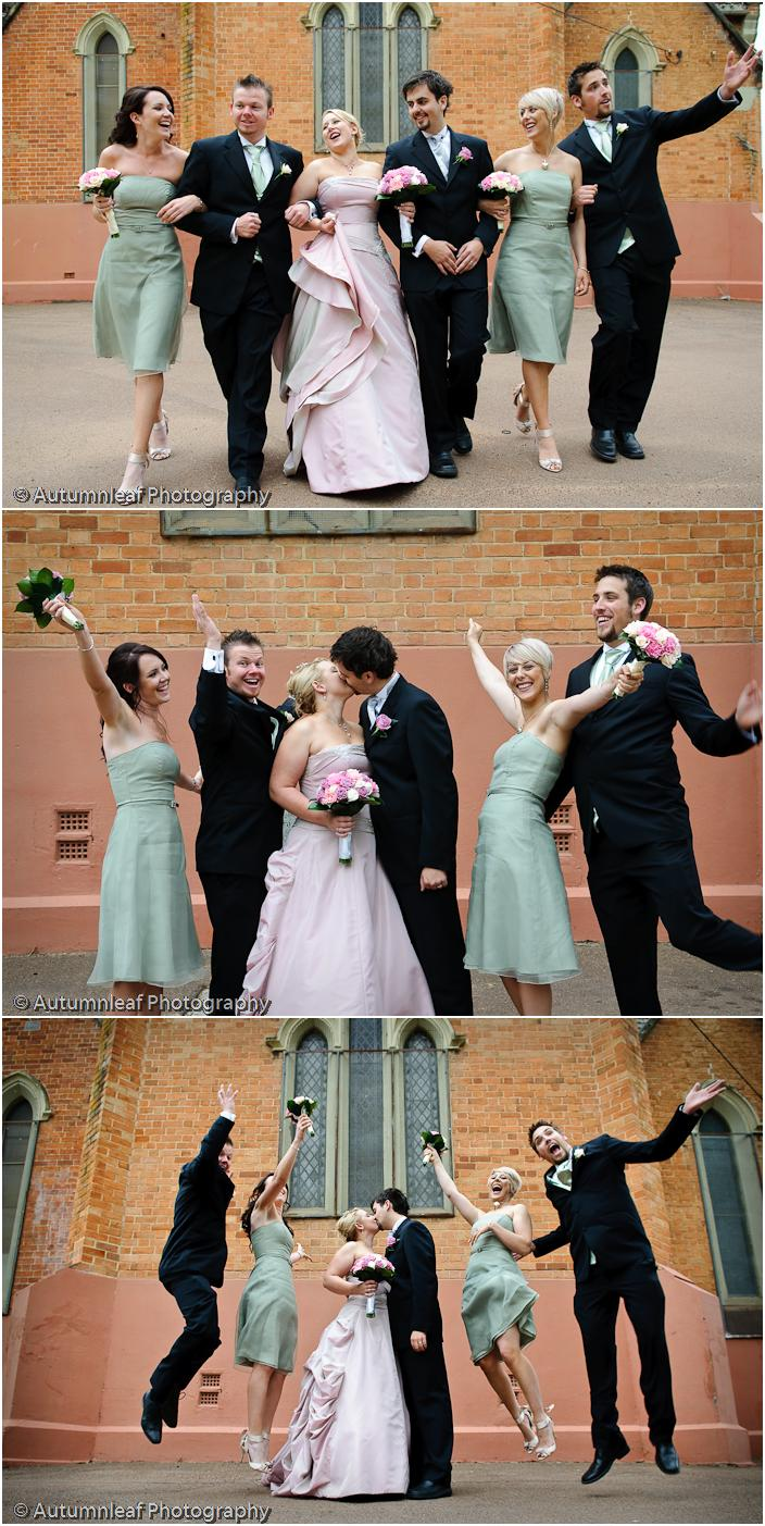 Prue  Paul's Wedding - Bridal Party Fun! (by Autumnleaf Photography)