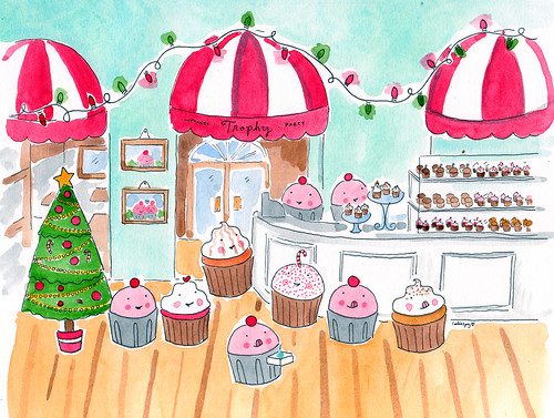 Holidays at Trophy Cupcakes