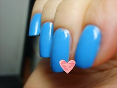 OPI No Room for the Blues (ballekarina) Tags: advent 2009 opi noroomfortheblues