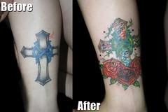 紋身改圖 (amazing Tattoo) Tags: tattoo suntattoo 紋身 改圖 修改紋身 香港紋身