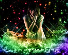 Merry Christmas (NathanMega) Tags: christmas new winter moon snow colors clouds photoshop holidays spirit adobe presents pete years vicki cs4 clickmore altrafotografia