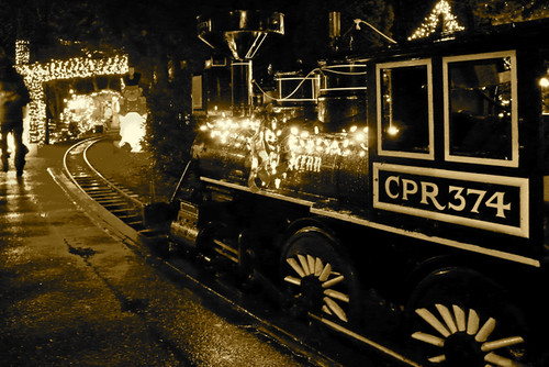 Bright Nights in Stanley Park Train