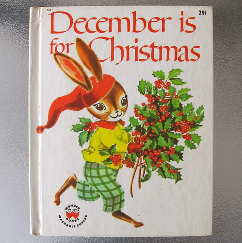 December is Christmas- vintage children's book by crimsoncat05