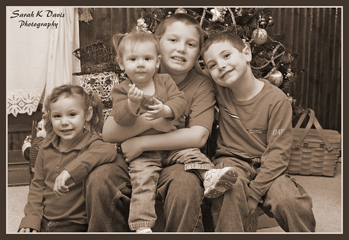 Madison, Kloie, Ezra, & Landon