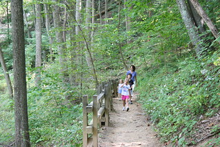 Hike at Crabtree Falls - Summer 2006