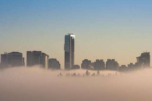 La cité des nuages (détail)