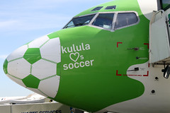 Kulula loves soccer plane, Cape Town Internati...