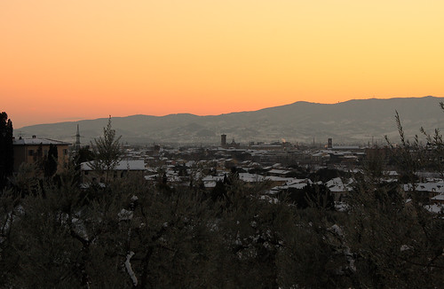 Tramonto - duomo - Prato