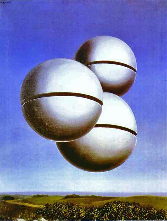 Magritte, Rene (1898-1967) - 1931 Voice of Space (Peggy Guggenheim Collection, Venice)