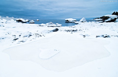 Ice revealed (Rob Orthen) Tags: winter sea sky snow ice suomi finland landscape nikon rocks europe scenic rob tokina scandinavia talvi meri maisema vesi archipelago pinta d300 1116 nohdr orthen roborthenphotography tokina1116 tokina1116mm28 seafinland