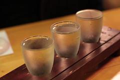 Yoko's choice - flight of sake