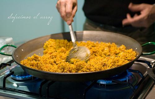 Sofriggere il riso