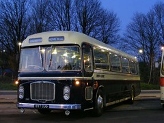837 SUO Royal Blue. (mr-bg) Tags: winchester oldbuses runningday fokab kingalfredmotorservices 010110 kingalefredbuses