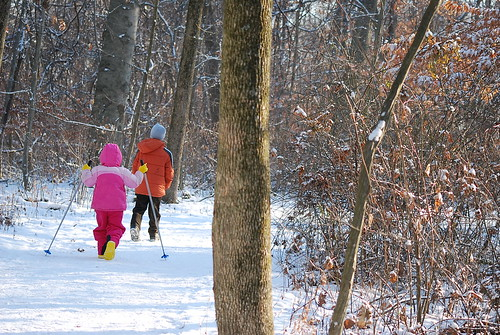 Kids Winter Hiking