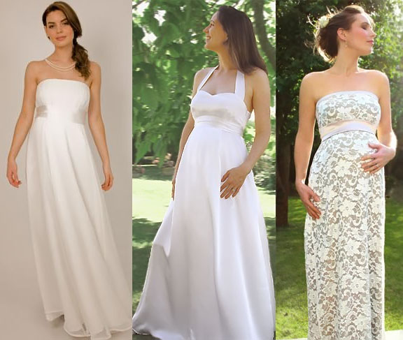 How to Choose a Maternity Wedding Dresses