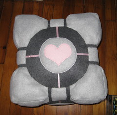 Plush Weighted Companion Cube