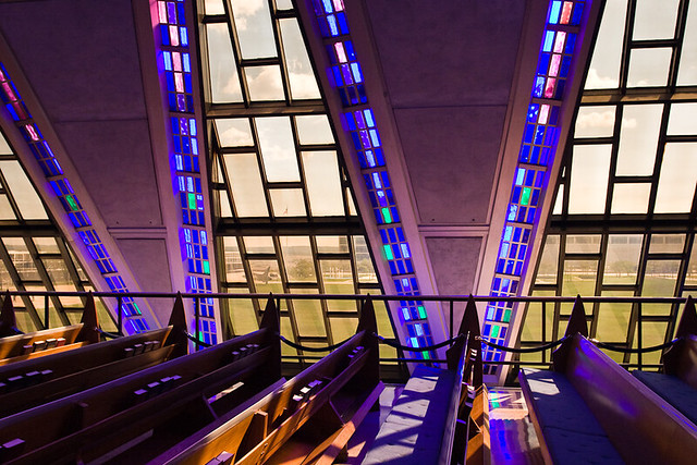 Cadet Chapel, US Air Force Academy