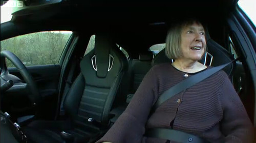 Margaret Calvert on Top Gear