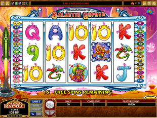 free The Adventures of Galactic Gopher free spins