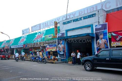 Talisay City public Market