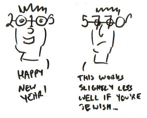 366 Cartoons - 331 - Happy New Year