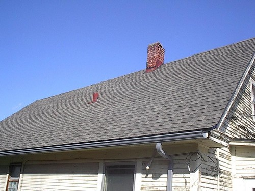 A Completed Roof from Habitat Omaha's Roof and Repair Program