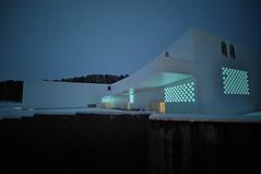 aomori museum (prkbkr) Tags: art japan museum aomori aoki tohoku jun 青森 美術館 青木 日本 建築