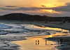 Lucky Australia! (maureen_g) Tags: sunset sky beach clouds scenery australia nsw centralcoast soldierspoint