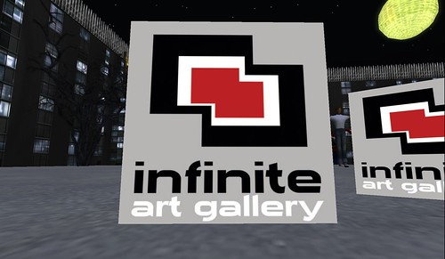 infinite art gallery in second life