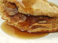 whole wheat pancakes - 31