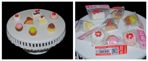 Cake and Cupcake Eraser