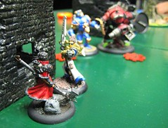 Sorscha is about to die (atom smasher) Tags: miniatures warmachine warjack khador