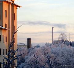 Linnanmäki talvella (Anna Amnell) Tags: winter suomi finland helsinki january talvi linnanmäki