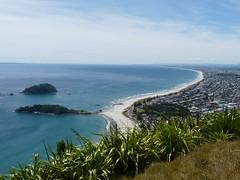 Tauranga, the beach