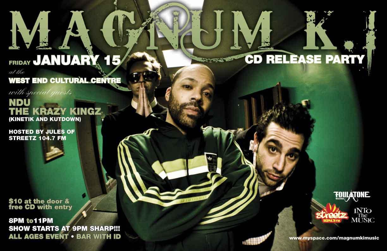 Magnum K.I. Release Poster