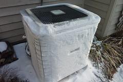 Frozen Hvac Heat Pump Jason Pearce