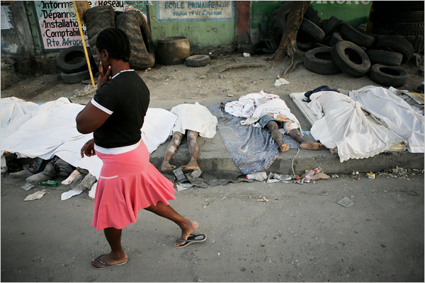 Haiti - photo by Damon Winter/The New York Times