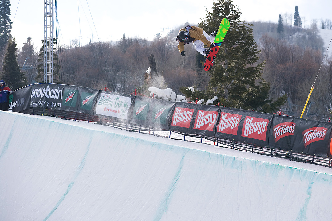 Snow Basin SuperPipe