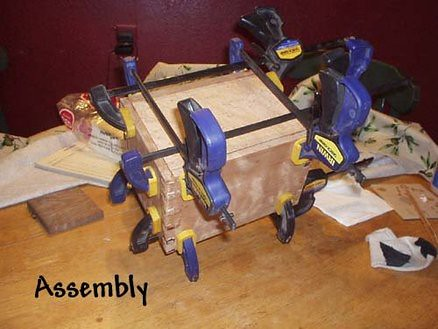 Dovetail Box Clamps.