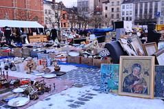 Bruxelles Place du Jeu de Balle (jacoreflex) Tags: de place bruxelles du aux marche jeu balle puces marolles
