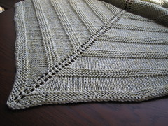 Simple yet effective shawl