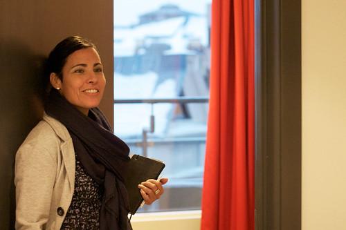 Angelica Montez de Oca hos Park Inn Oslo