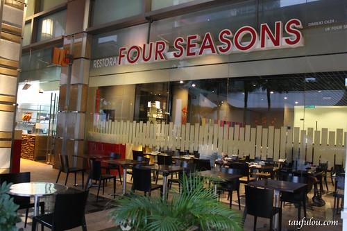 cny menu four seasons chinese restaurant  cap square kl