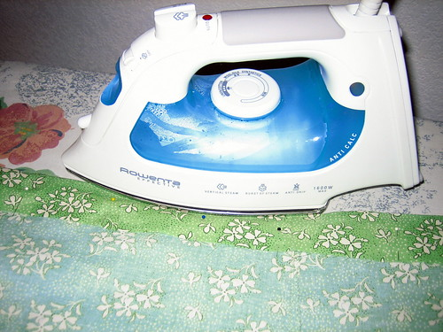 Elastic Waistband with Casing--ironing waistband casing