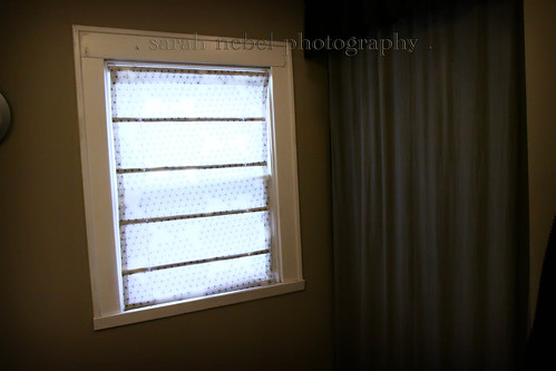 . my DIY shade made from miniblinds .