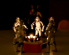 Swapping monster stories by the campfire (...Ashish...) Tags: canon rebel starwars stormtroopers 365 clonetrooper maytheforcebewithyou xti maythe4th 400d maythefourthbewithme