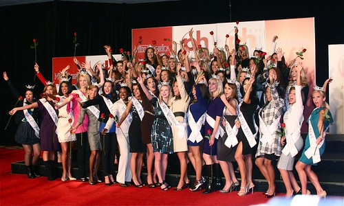 Now this is a GREAT one! All the Miss America Contestants #MAO10