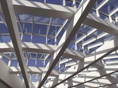 High Ceiling (Mamluke) Tags: blue atlanta light sun sunlight art window azul museum architecture geor