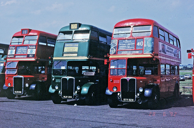 Three RT buses
